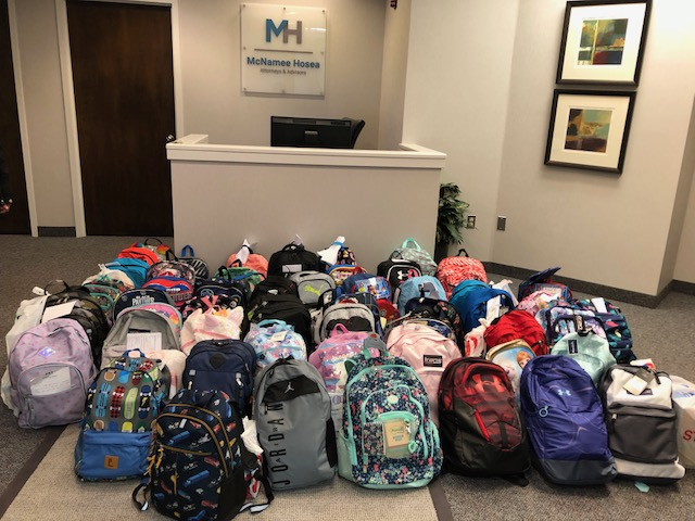 2018 Back-to-School Drive